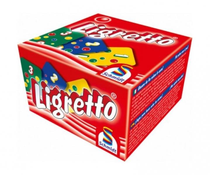 Rappa Hra Ligretto - červená