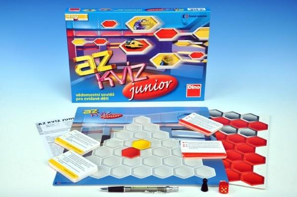 AZ kvíz junior spoločenská hra 10+ v krabici 33x23x3,5cm