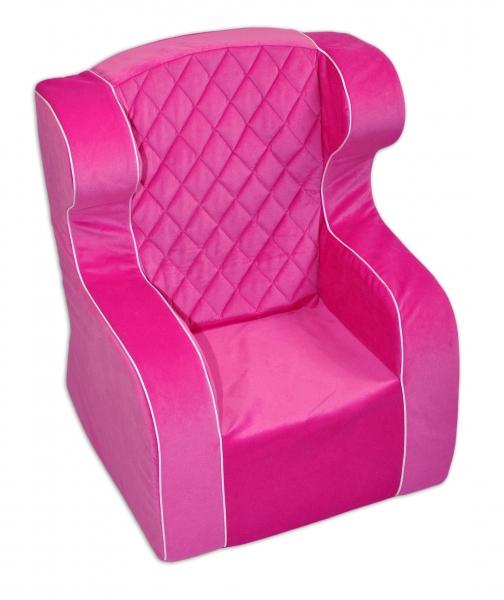 Detské kresielko / ušiak - ružové