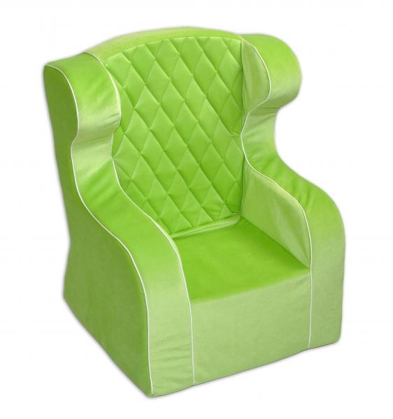 Detské kresielko / ušiak - zelené