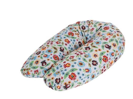 Dojčiaci vankúš - relaxačná poduška Cebuška Physio Multi - Folklor