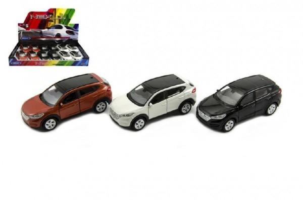 Auto Welly Hyundai Tucson kov 11cm asst 3 farby voľný chod 12ks v boxe