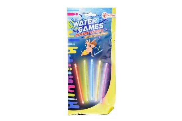 Tyčinky svietiace do vody  plast 15cm v sáčku