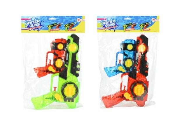 Teddies Vodné pištole plast 2v1 26cm asst 3 farby v sáčku