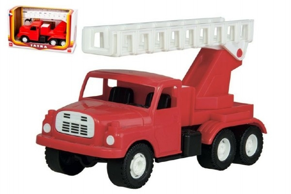 Teddies Auto Tatra 148 plast 30cm hasiči v krabici