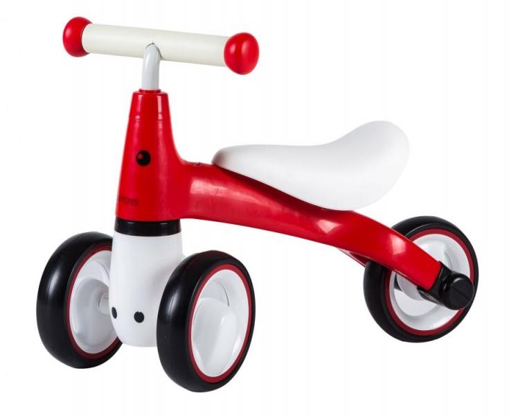 Odrážadlo / trojkolka Eco Toys, Dino - červená