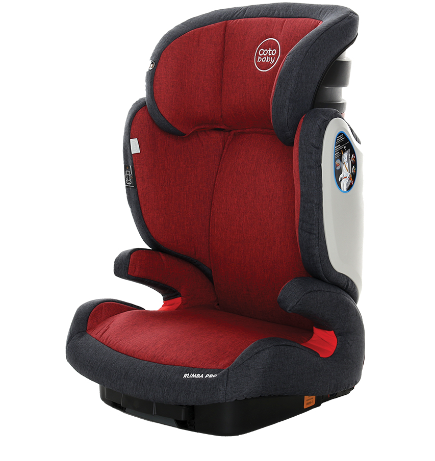 Autosedačka Coto Baby Rumba Pro Isofix - Melange Red