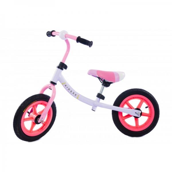 Detské odrážadlo - bicykel - ružové