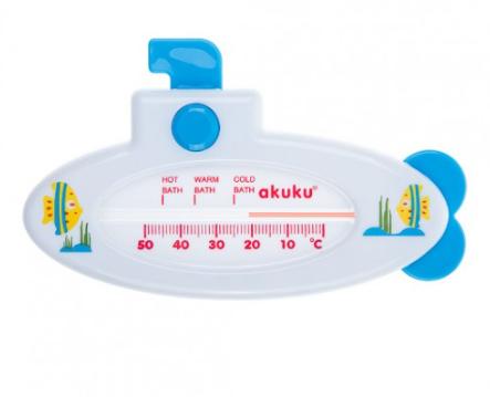 Akuku Teplomer do vody Ponorka biela