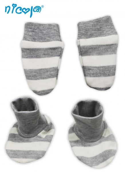 Dojčenská sada - rukavičky s topánočkami Football
