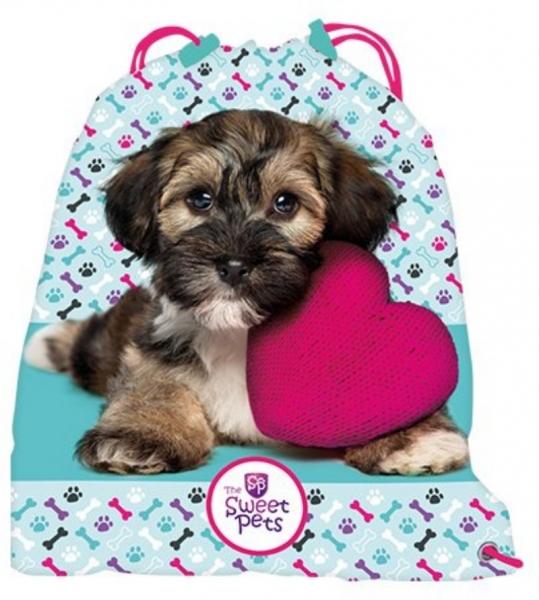 Vrece školské / športová The Sweet Pets Pes