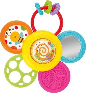 Smily Play Edukačná hračka s prísavkou - Sedmokráska