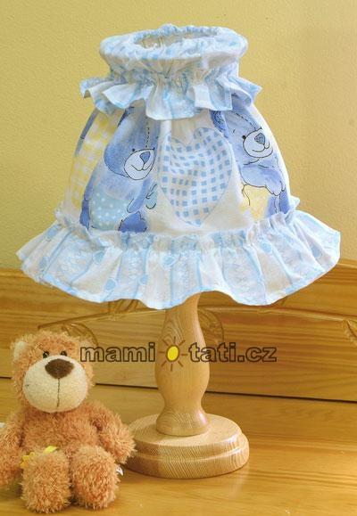 Nočná lampička - Babyland modrý