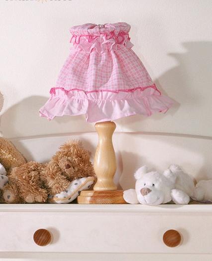 Nočná lampička - Rojko ružový