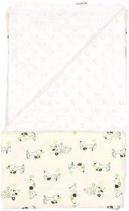 Detská deka, dečka Dog 80x90 - Minky/bavlna