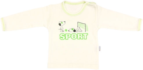 Bavlnené tričko Dog - dlhý rukáv, vel. 98-98 (24-36m)