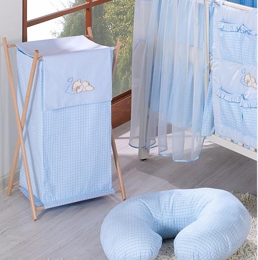 Dojčiace vankúš - Rojko modrý