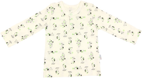 Mamatti Bavlnené tričko/polo Dog, veľ. 86-86 (12-18m)