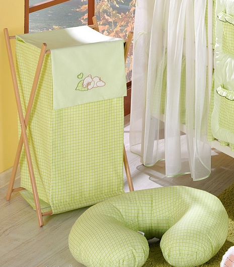 Dojčiace vankúš - Rojko zelený