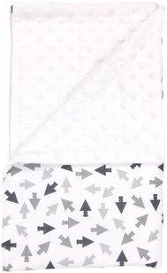 Detská deka Arrow 80x90 - Minky/bavlna