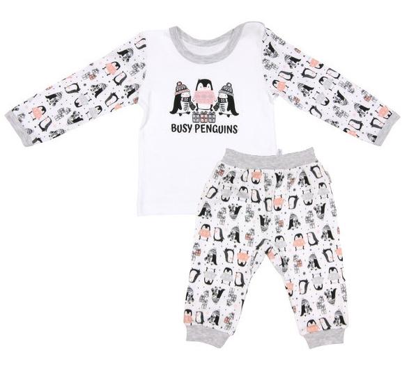 Mamatti Bavlnené pyžamko Penguin, veľ. 80