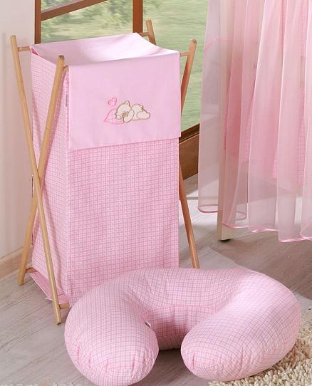 Dojčiace vankúš - Rojko ružový