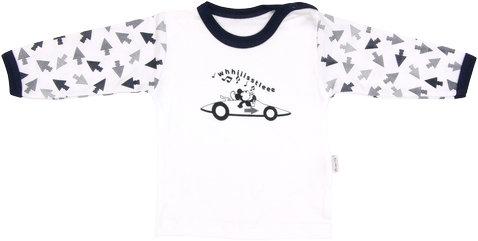 Mamatti Bavlnené tričko Arrow - dlhý rukáv, veľ. 86-86 (12-18m)