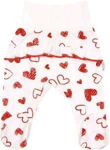 Polodupačky Heart,roz. 74-74 (6-9m)