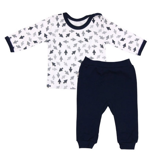 Bavlnené pyžamko Arrow-74 (6-9m)