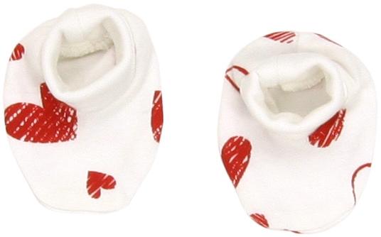 Mamatti Bavlnené topánočky/ponožtičky Heart
