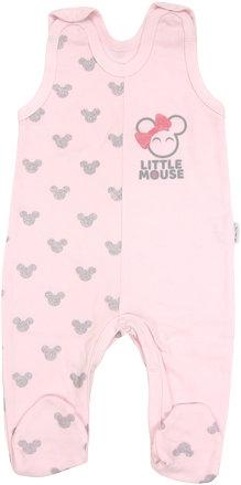 Dojčenské bavlnené dupačky Little mouse, roz. 68-68 (4-6m)