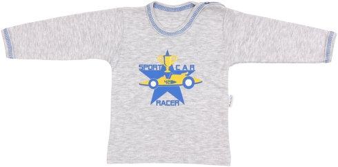 Bavlnené tričko Four - dlhý rukáv, veľ. 86-86 (12-18m)