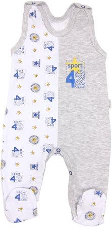 Dojčenské bavlnené dupačky Four, veľ. 62-62 (2-3m)