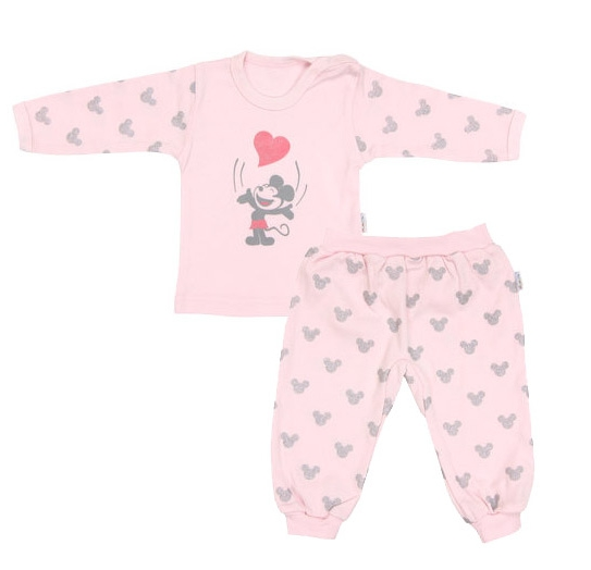 Mamatti Bavlnené pyžamko Little mouse, veľ. 80