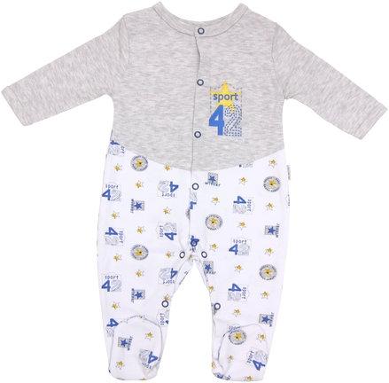 Dojčenský bavlnený overal Four, veľ. 80-80 (9-12m)