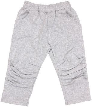 Mamatti Bavlněné tepláčky, kalhoty Four - sivé, veľ. 98-98 (24-36m)