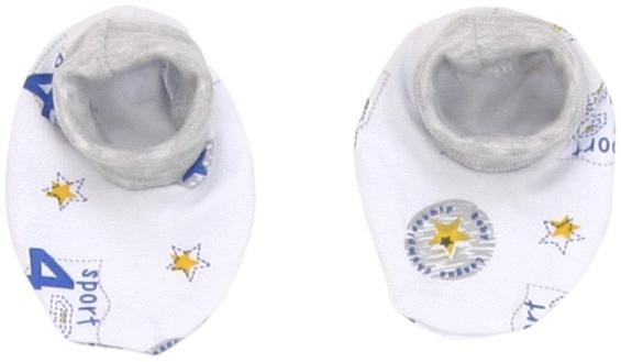 Mamatti Dojčenské topánočky / ponožtičky Four