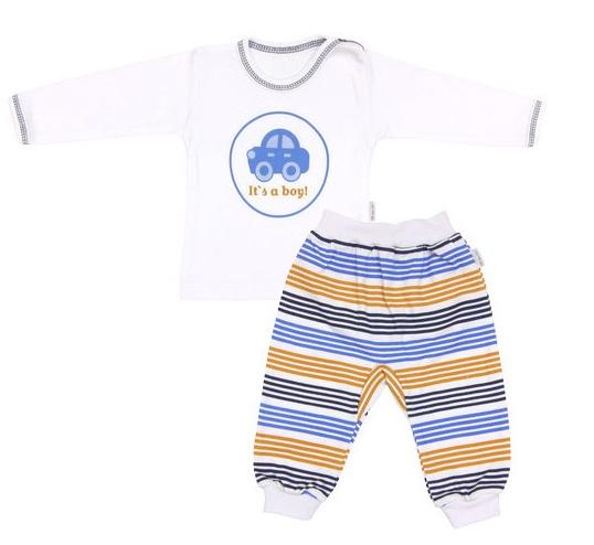 Bavlnené pyžamko Boy-74 (6-9m)