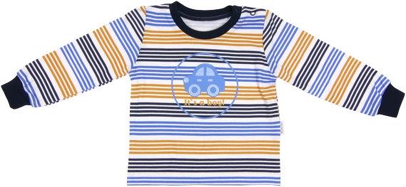 Mamatti Bavlnené tričko Boy, veľ. 80-#Velikost koj. oblečení;80 (9-12m)