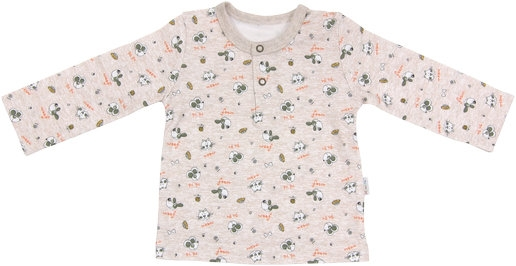 Mamatti Bavlnené tričko/polo Pet´s-#Velikost koj. oblečení;68 (4-6m)