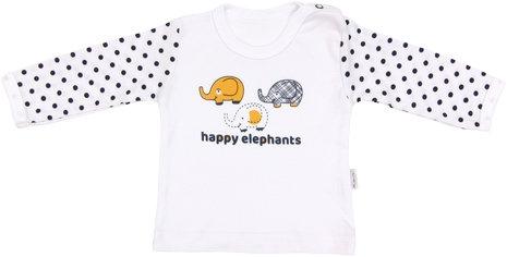 Mamatti Bavlnené tričko Elephant-74 (6-9m)