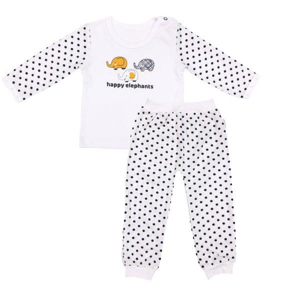 Bavlnené pyžamko Elephant, veľ. 80-80 (9-12m)