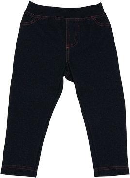 Bavlnené jednofarebné legíny - jeans, veľ. 80