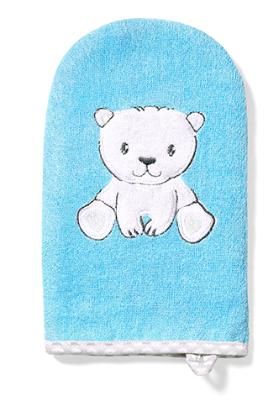 Bambusová žinka Medvedík - modrá