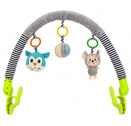 Oblúk s hračkami Myška a sova