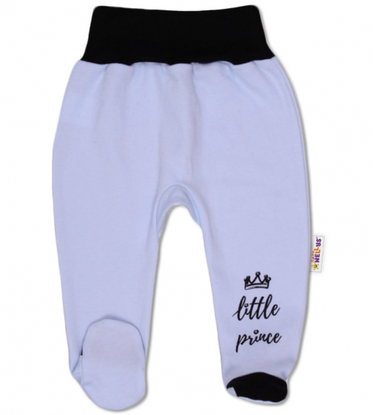 Baby Nellys Dojčenské polodupačky, Little Prince - modré