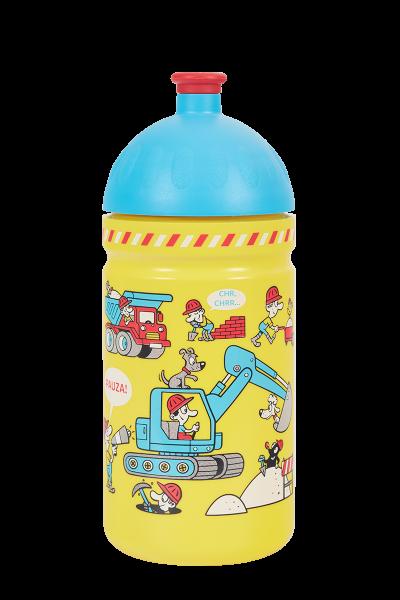 Zdravá fľaša - 0.5l - Stavba, žlutá