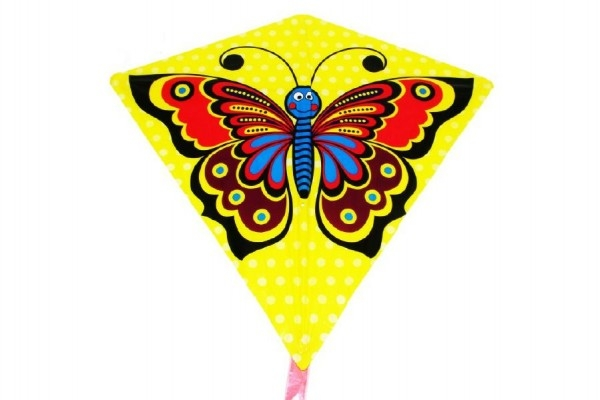 Teddies Drak lietajúci motýľ plast 68x73cm v sáčku