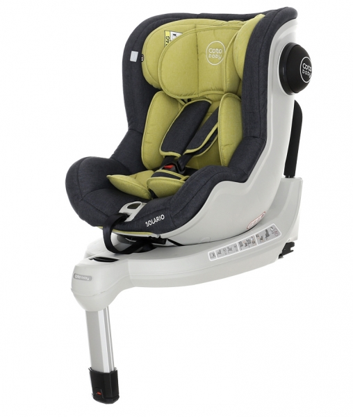 Coto Baby Autosedačka Solario Melange 0-18 kg olive