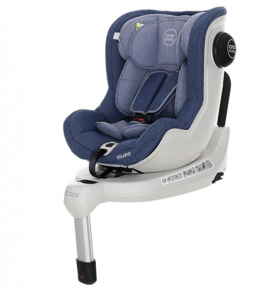 Coto Baby Autosedačka Solario Melange 0-18 kg blue